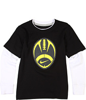 Nike Kids - Carbon Football 2-fer Tee (Little Kids)