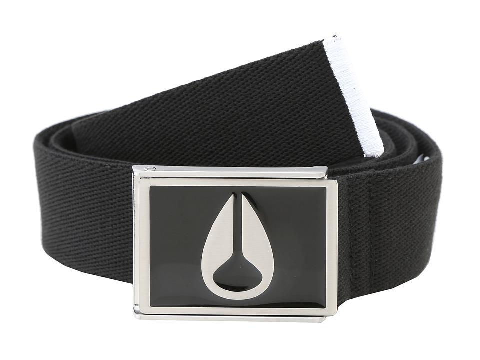 Nixon - Enamel Wings Belt (Black) Mens Belts