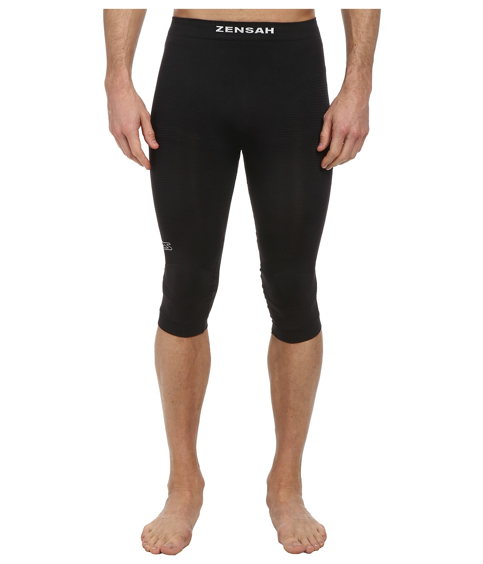 Zensah 3/4 High Compression Tight Black Clothing