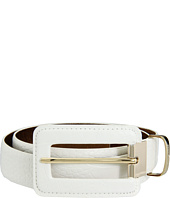 MICHAEL Michael Kors - 30MM Belt w/ Coved Buckle and Metal Loop