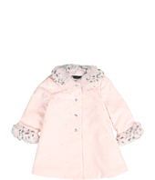 Biscotti - Swing Coat With Faux Fur Detailing (Infant)