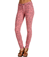 Genetic Denim - Raquel Mid Rise Crop in Black Blush Skillz