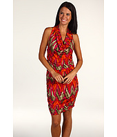 MICHAEL Michael Kors - Wild Print Shirred Halter Dress