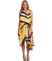 Jessica Simpson - Sleeveless Gathered Scarf Dress