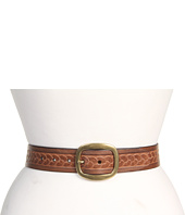 Cheap Fossil Embossed Rope Centerbar Pecan