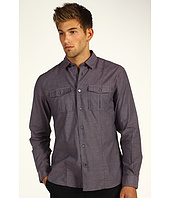 John Varvatos - End On End Military Shirt