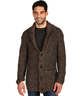 John Varvatos Star U.S.A. - Double Layer Shawl Collar Sweater