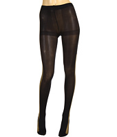 HUE - New Years Glitter Tuxedo Stripe Tight