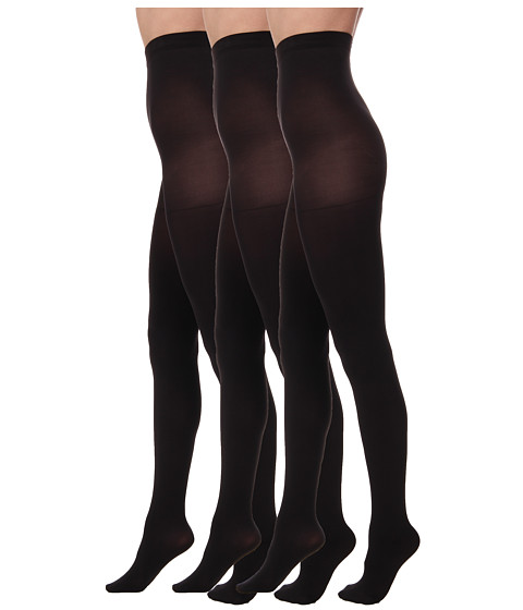 Hue Super Opaque tights 3 pack - Made in the USA