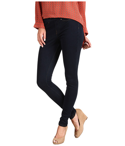 HUE - Plus Size Original Jeanz Legging (Midnight Rinse) - Apparel