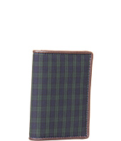 Jack Spade - Cotton Blackwatch Vertical Flap Wallet