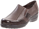 Walking Cradles - Drake (Brown Leather/Croc Patent) - Footwear