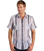 Perry Ellis - S/S Multi Stripe Shirt
