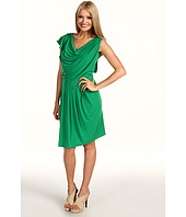 Vince Camuto - Asymmetrical Flutter Sleeve Dress VC2A1483
