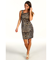 Vince Camuto - Animal Print Asymmetrical Dress VC2P1452