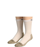 Dan Post - Dan Post Work & Outdoor High Performance Socks- Medium Weight Steel Toe 2-Pack