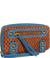 Linea Pelle - Dylan Colorblock Zip Wallet