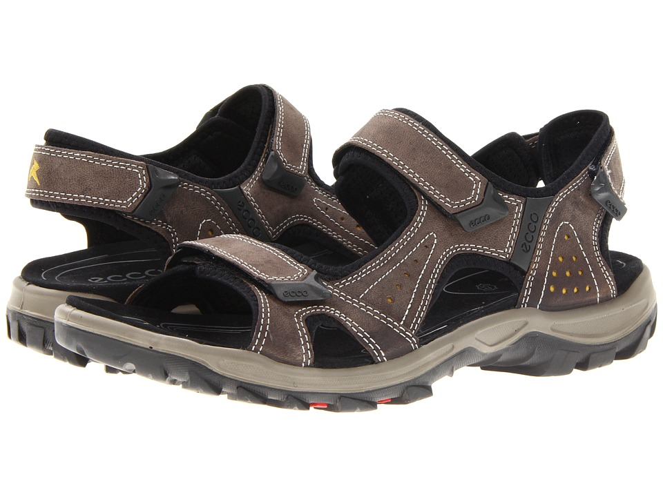 ECCO Sport - Offroad Lite Sandal 2 (Warm Grey/Olive Oil/Desert Night/Synthetic) Men's Sandals