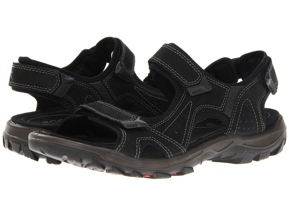 ECCO Sport - Offroad Lite Sandal 2 (Black/Denim Blue/Desert Night/Synthetic) Men