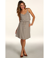 Three Dots - Button Front Drawstring Dress