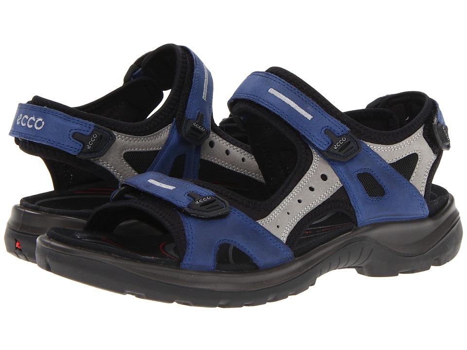 ECCO Sport Yucatan Sandal Medieval/Wild Dove/Starbuck/Basalt Womens Sandals