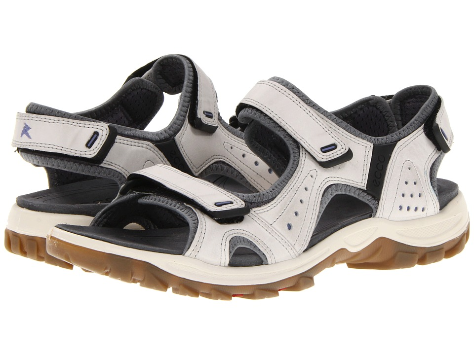 ECCO Sport - Cheja (Shadow White/Baja Blue/Starbuck/Synthetic) Women's Sandals