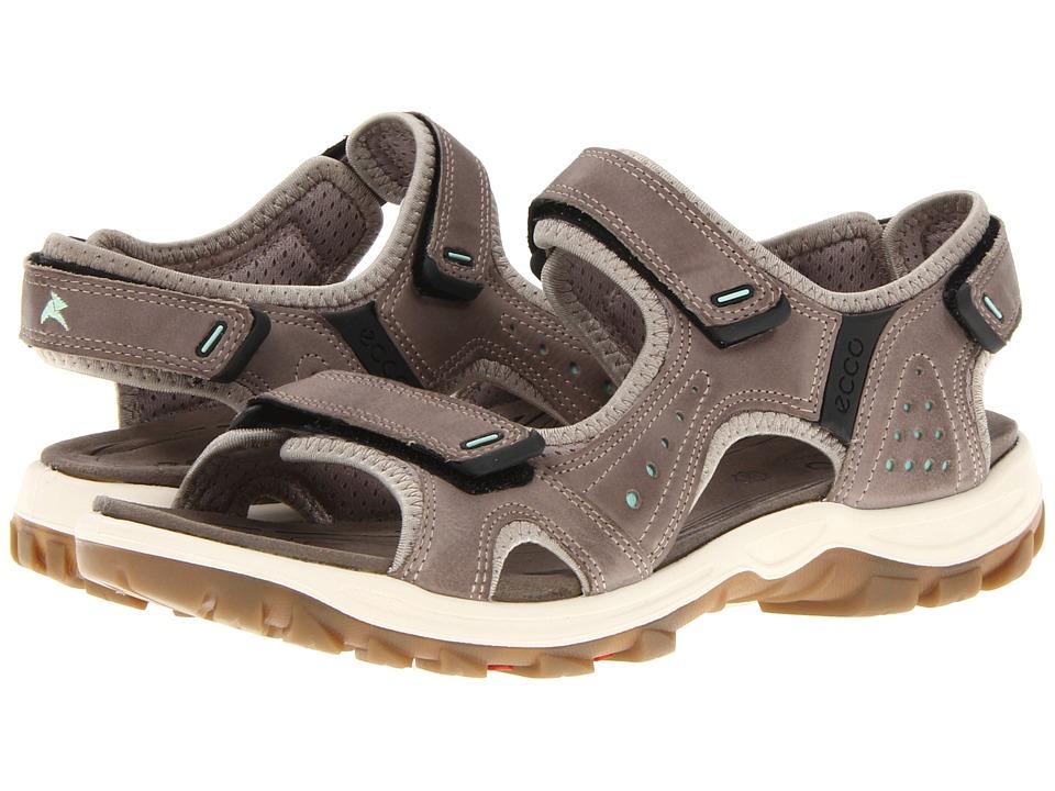 ECCO Sport - Cheja (Moon Rock/Emerald/Starbuck/Synthetic) Women's Sandals
