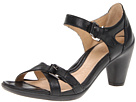 ECCO - Sculptured 65 Sandal 2 (Black Feather) Sandal