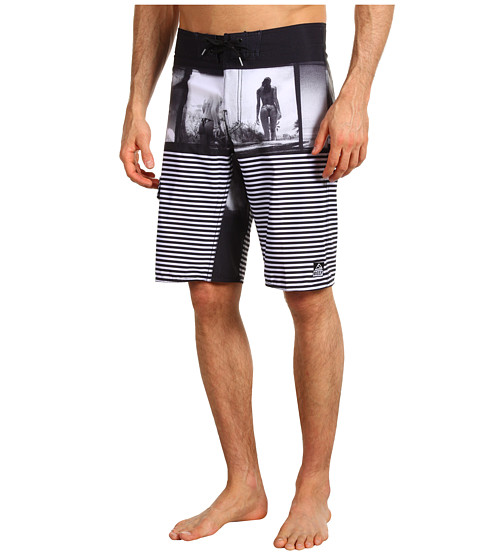 Shop Reef - Miss Acid Boardshort Black  and Reef online - Men, Clothing, Swimwear, Swimsuit Bottoms online Store