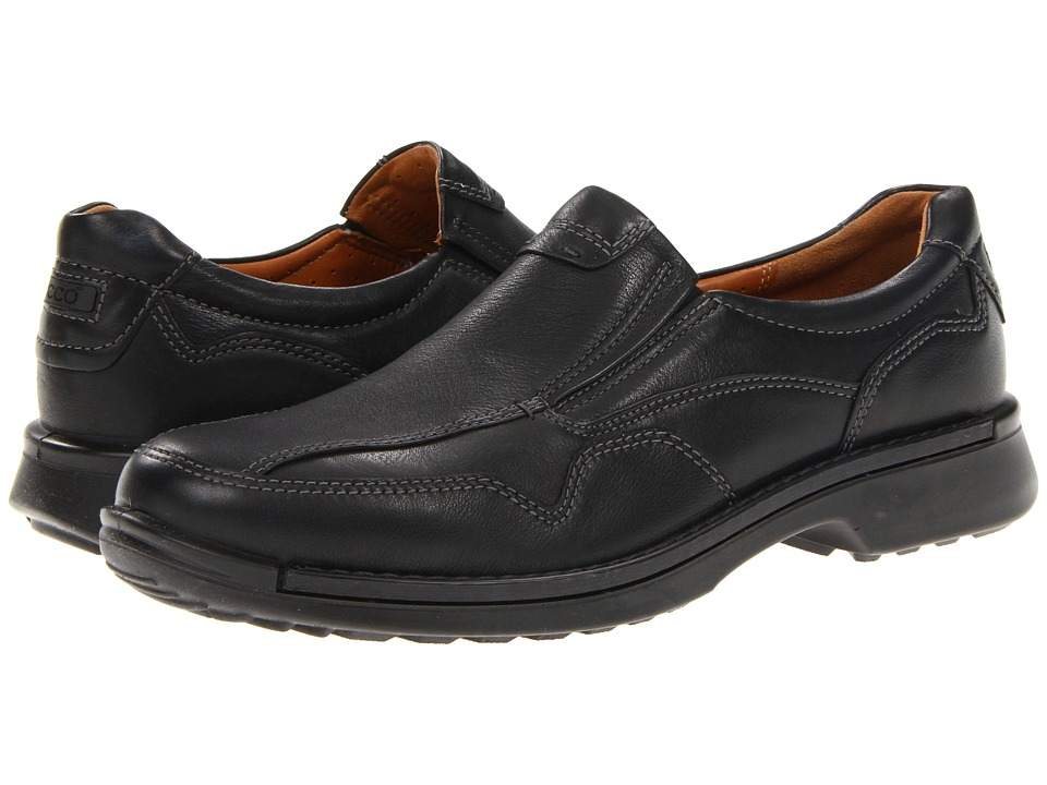 ECCO Fusion Casual Slip On (Black Lexi) Men