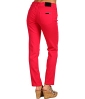 Anne Klein - 2 Pocket Skinny Jean in Rouge