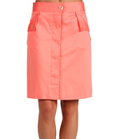 Anne Klein - Cotton Sateen Skirt