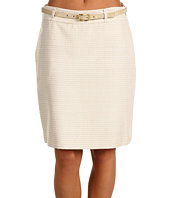 Anne Klein - Novelty Texture Mini Skirt