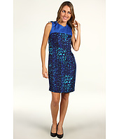 Anne Klein - Mosaic Lion Print Dress
