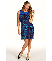 Anne Klein Petite - Petite Mosaic Lion Dress