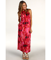 Anne Klein Petite - Petite Brushstroke Print Maxi Dress