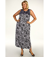 Anne Klein Plus - Plus Size Jungle Fever Maxi Dress