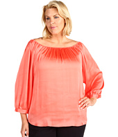 Anne Klein Plus - Plus Size Off Shoulder Blouse