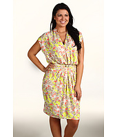 Anne Klein Plus - Plus Size Floral Print Dress
