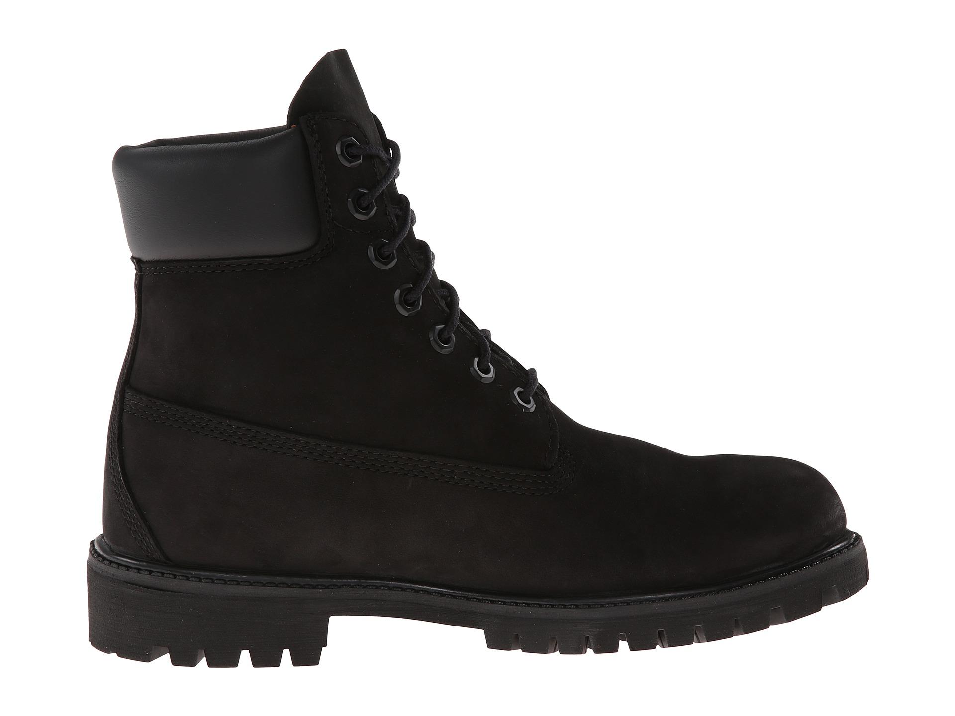 timberland classic 6 quot premium boot black nubuck zappos