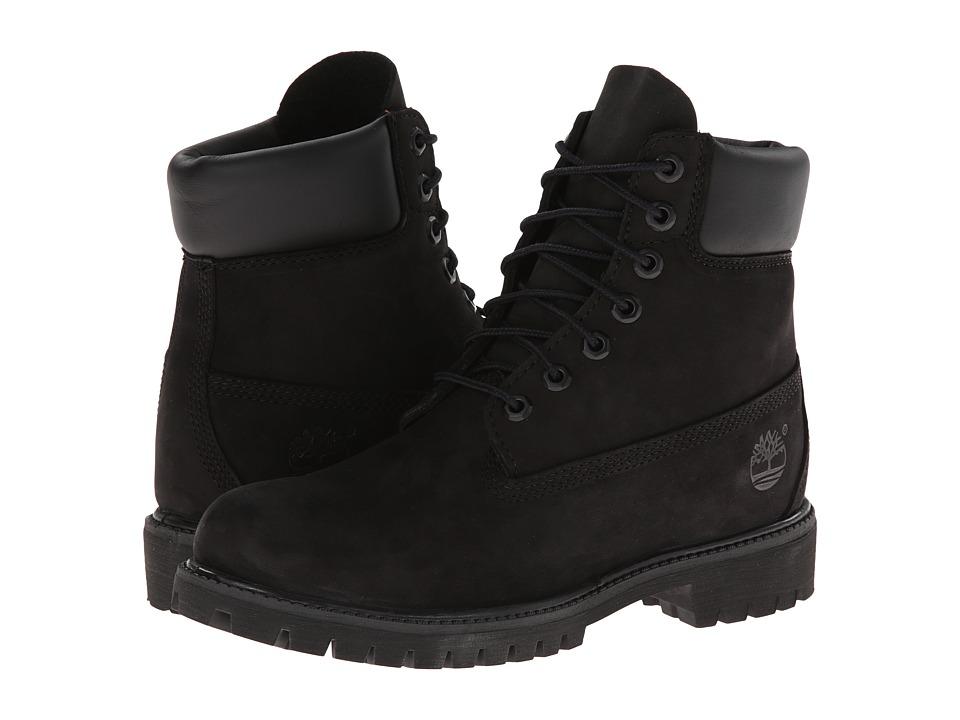 Timberland - Classic 6 Premium Boot (Black Nubuck) Men