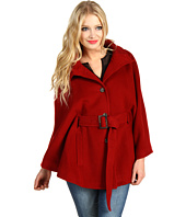 Cole Haan - Belted Wool Plush Cape