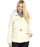 Cole Haan - Taffeta Down Jacket w/ Gold Hardware