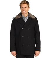 Cole Haan - Double Breasted Wool Peacoat