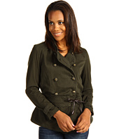 Christopher Blue - Mia Military Jacket Mercer Sateen