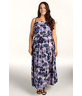 DKNY Jeans - Plus Size Evening Floral Printed Maxi