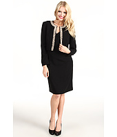 Tahari by ASL - Pearl Embellished Jacket/Dress Set