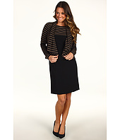 Tahari by ASL - Paul Knit Striped Jacket Dress