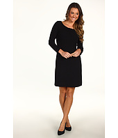 Tahari by ASL - Ronald 3/4 Length Sleeve Bow Neckline Dress