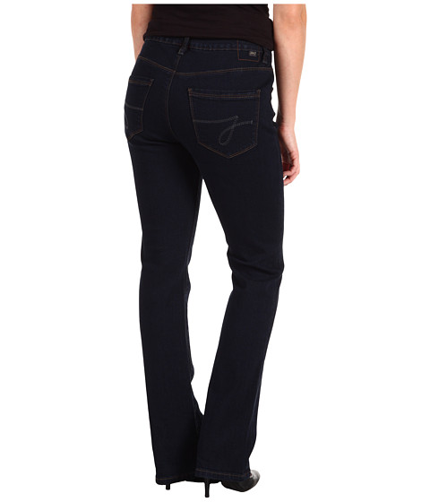 Cheap Jag Jeans Petite Petite Foster Mid Rise Narrow Boot In After Midnight After Midnight